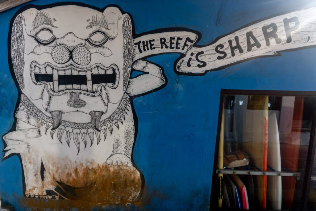 The Reef is Sharp Uluwatu