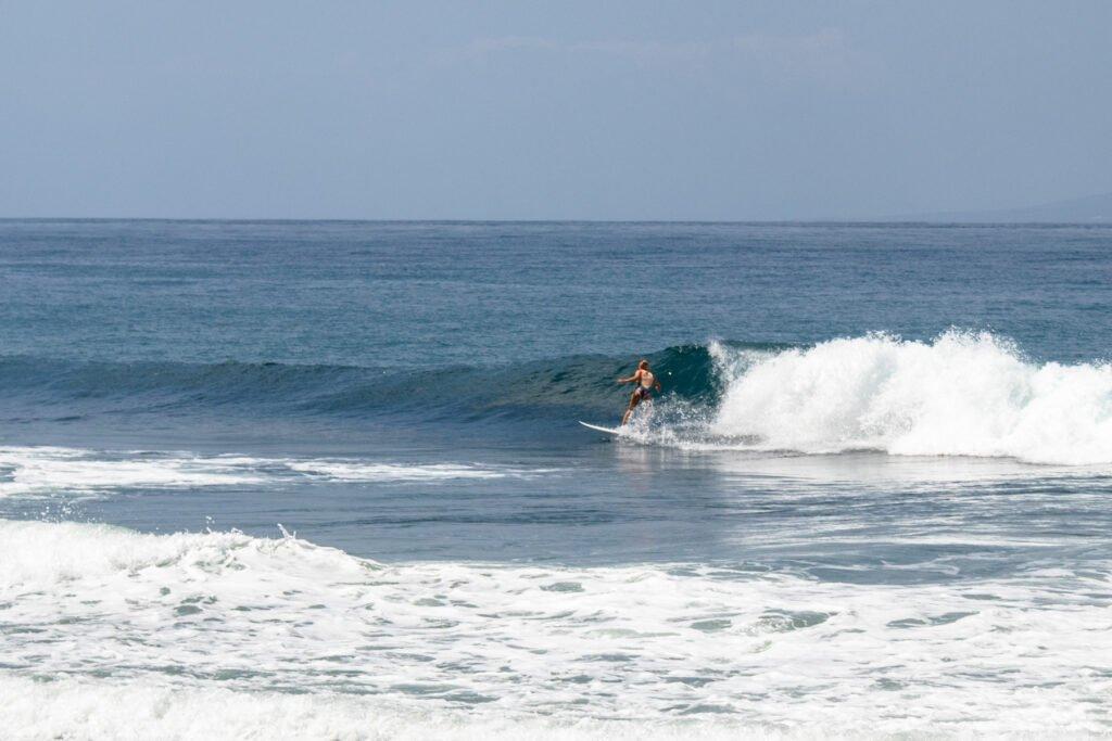 Keramas Wave in Bali