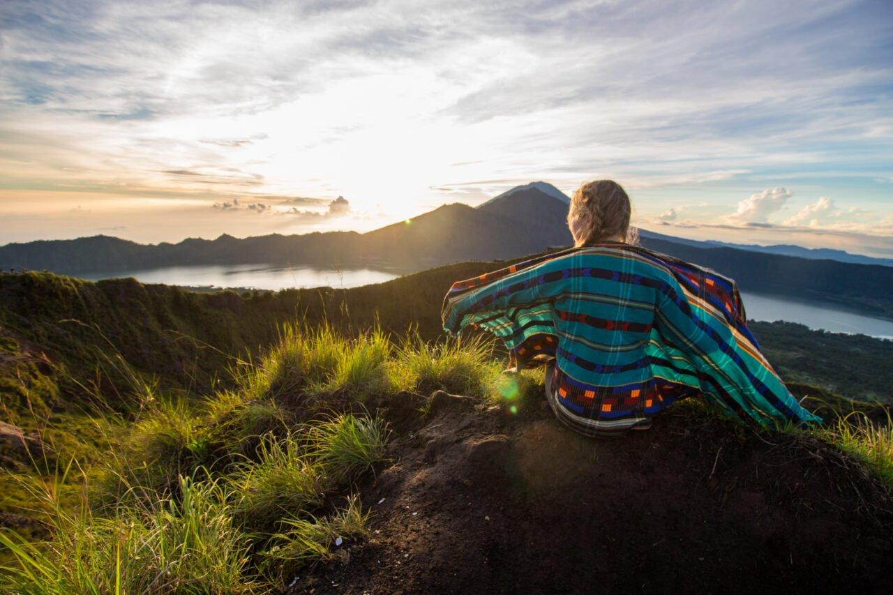 Sunrise from Mount Batur
