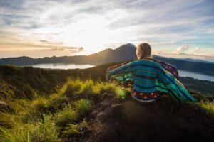 Sunrise from Mount Batur