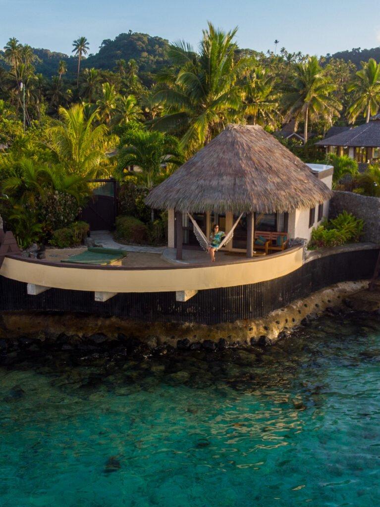 Koro Sun Overwater bungalow
