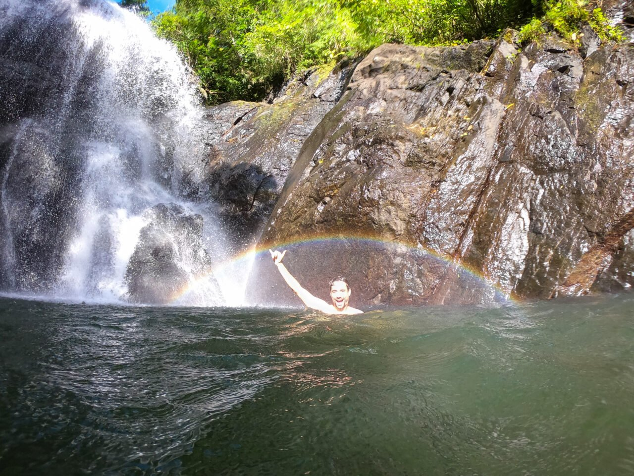Vuadomo-waterfall-rainbow-swim